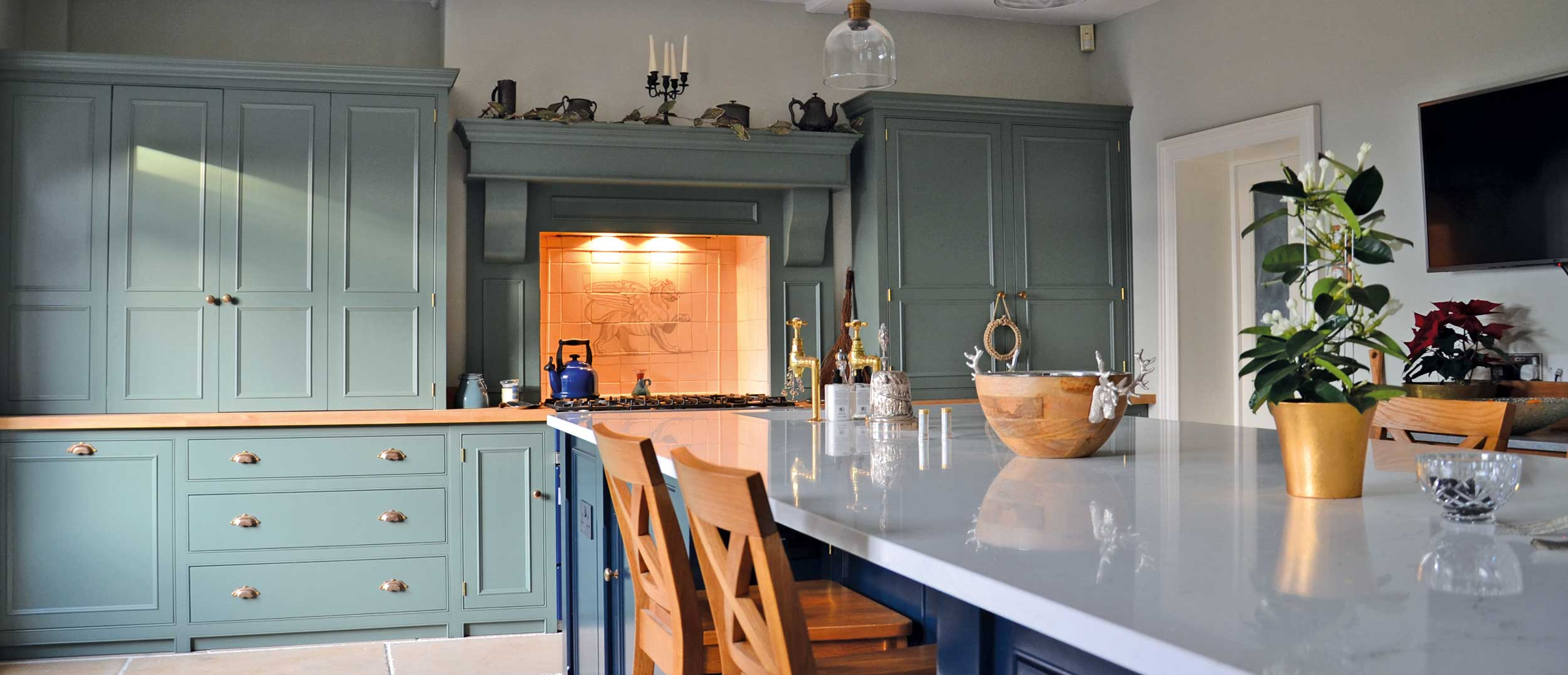Bespoke Kitchens Hand Made With Solid Wood From The Bramble