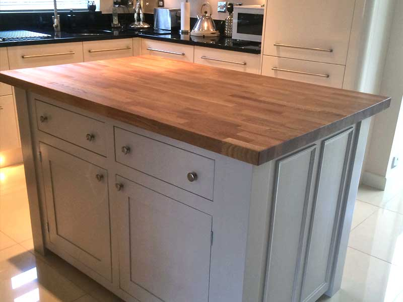 kitchen islands hand made with dovetail joinery, quality furniture for your kitchen, Norfolk, Suffolk, Essex UK